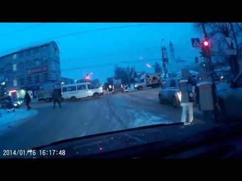 Задержание пьяного водителя в Омске