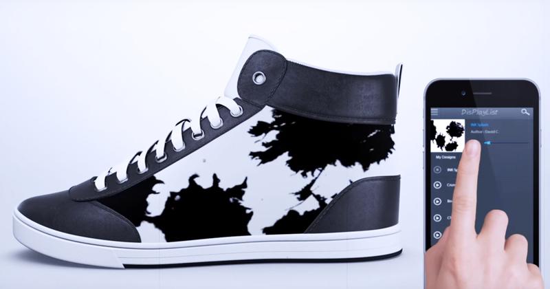 Вы больше никогда не наденете одну и ту же обувь дважды: кеды, которые меняют цвет