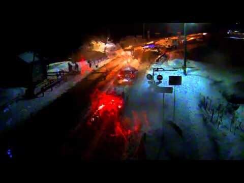 Пьяный таксист сбил женщину на переезде