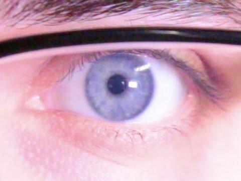 Какое разрешение у глаза?