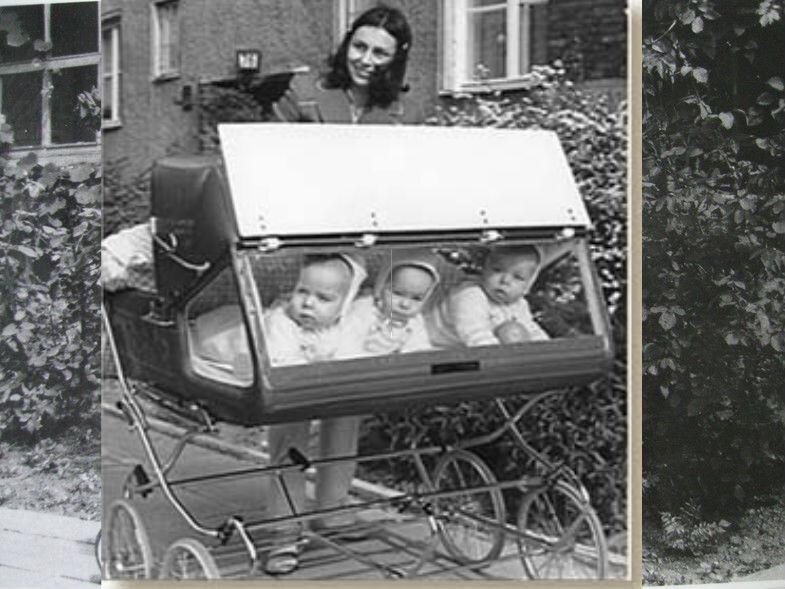 Какие были раньше коляски для многодетной мамы