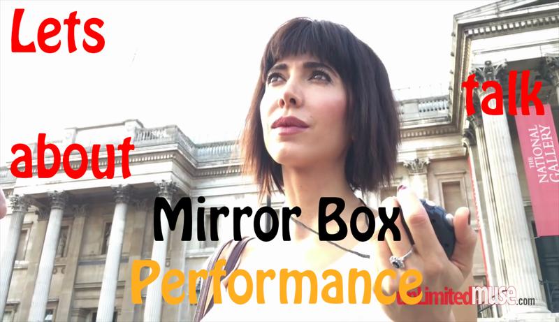 Mirror milo moire Performance Artist