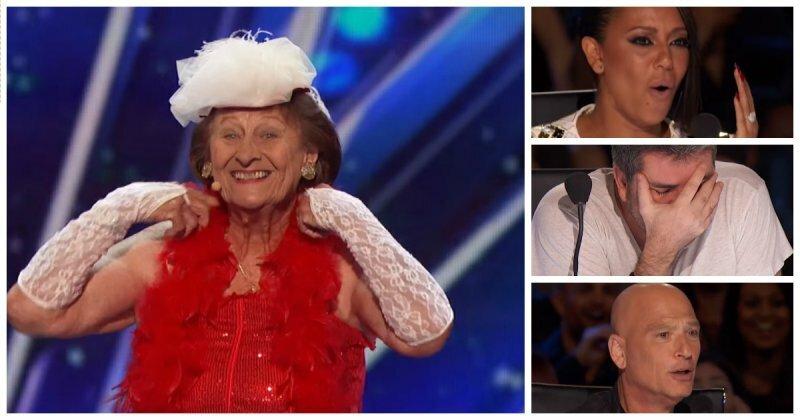 90-летняя гавайская шалунья зажгла по-взрослому на американском шоу талантов