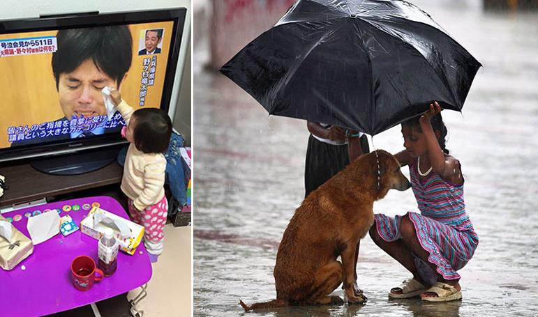 45 фотографий детей, которые вернут вам веру в человечество