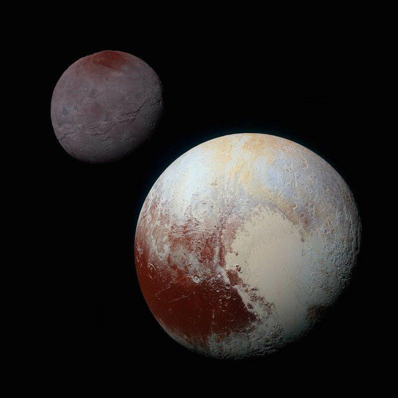 Один год спустя: Топ-10 открытий на Плутоне