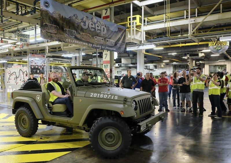 Jeep отпраздновал свой 75-й юбилей