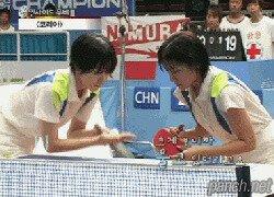 Прикол в теннисе