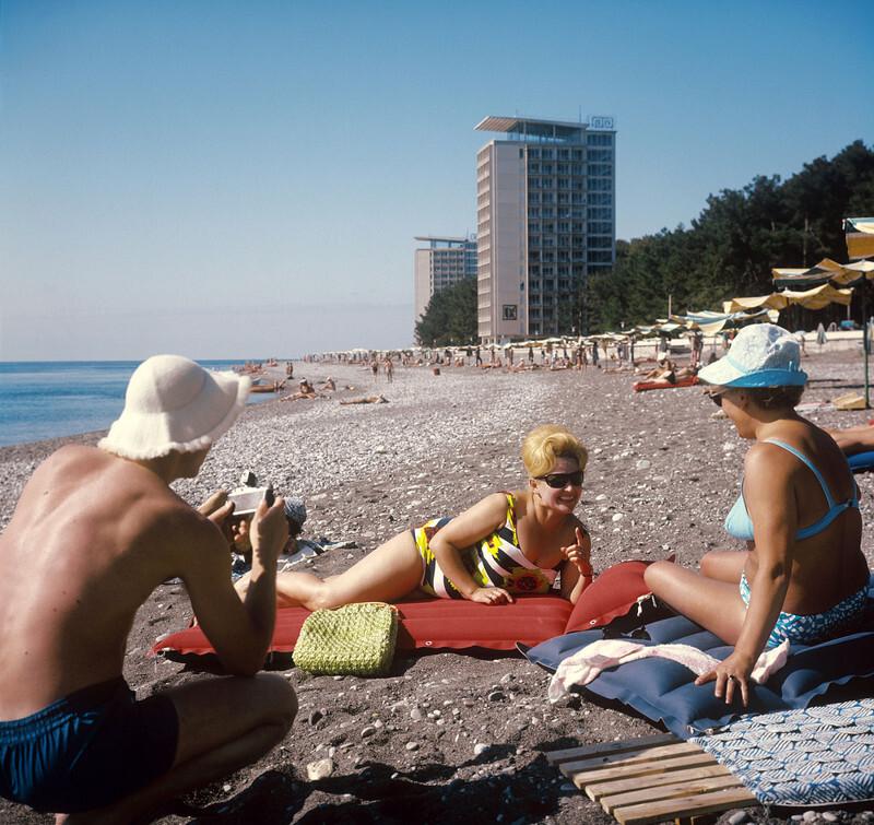 Отдых в квадрате: советский Instagram
