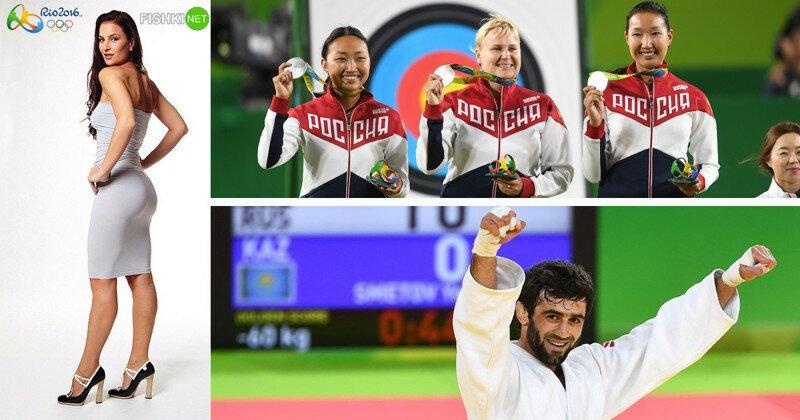 Герои Олимпиады, которые уже завоевали медали для России