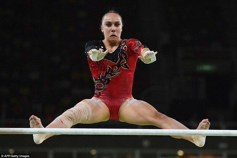 Лица гимнастов-олимпийцев раскрывают страшную правду о спорте