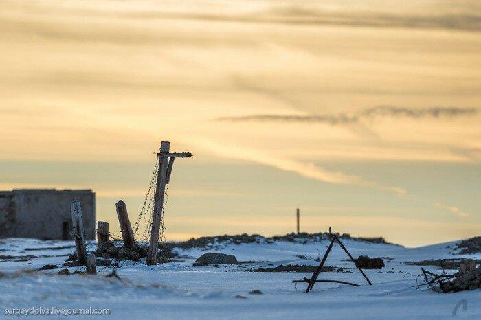 Заброшенные урановые рудники Чукотки