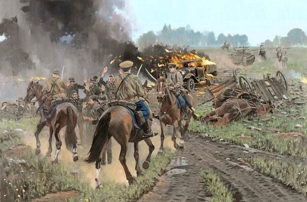 Как в Сталинграде кавалерия изрубила три румынских полка