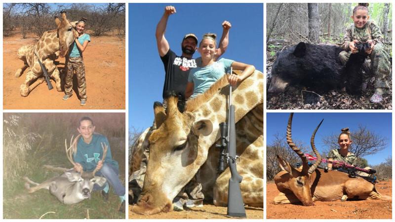 12-летняя американка хладнокровно убивает животных: «Я охотник и никогда не остановлюсь»