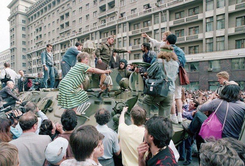 25 лет назад в Советском Союзе произошел августовский путч