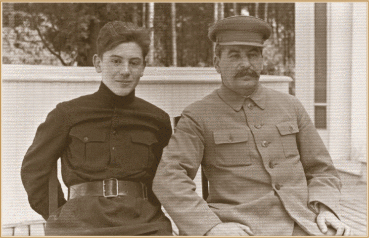 Сталин пишет письмо учителю сына Василия... 1938-й год