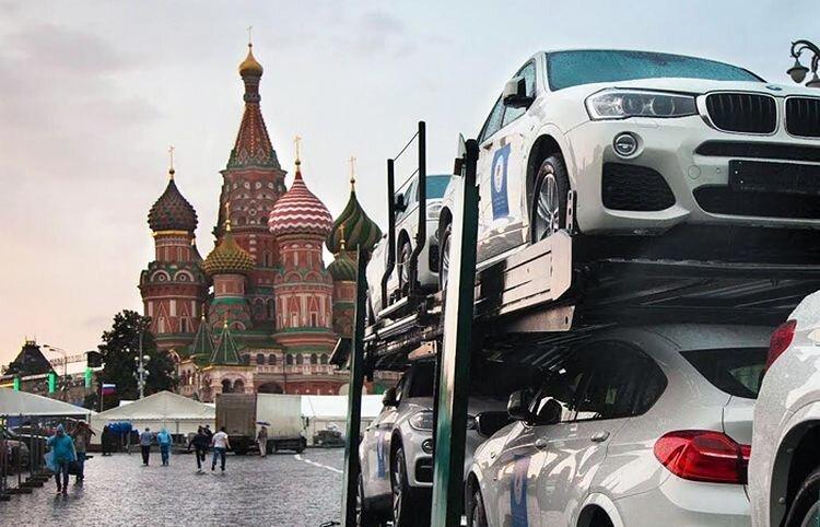 Российским олимпийцам вручили новенькие BMW