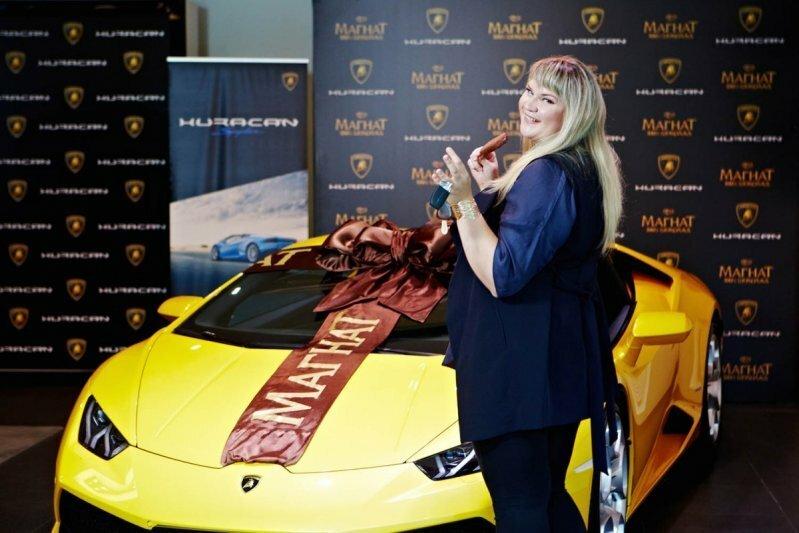 Выигранный Lamborghini жительницы Искитима выставили на продажу