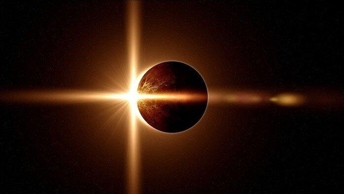 Сегодня 1 сентября в 12.06 мск - Солнечное затмение. В день знаний лучше знать!