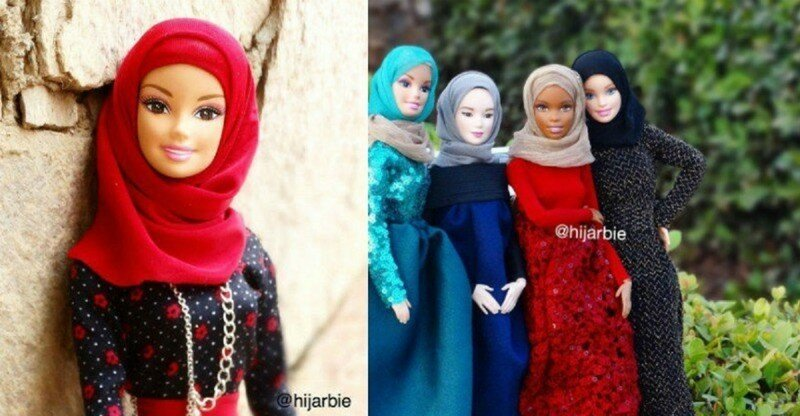 Барби приняла ислам