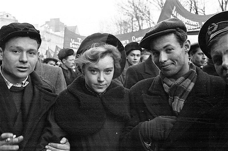 СССР в лицах. Ленинград, 1950 г