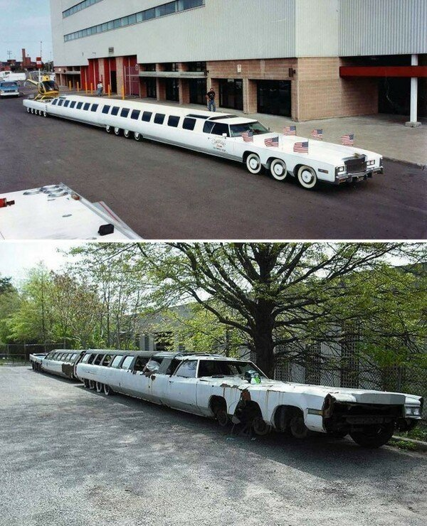 Было-стало. Самая длинная машина в мире