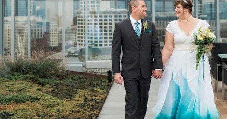 """""""Градиентные"""" свадебные платья: последний писк моды"""