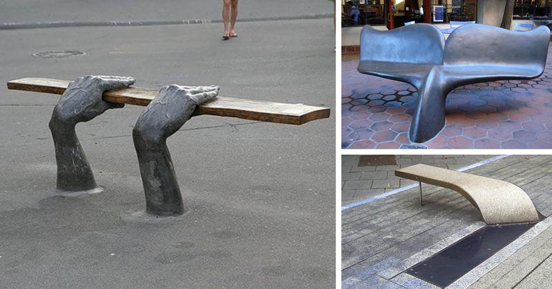 45 самых оригинальных скамеек в мире