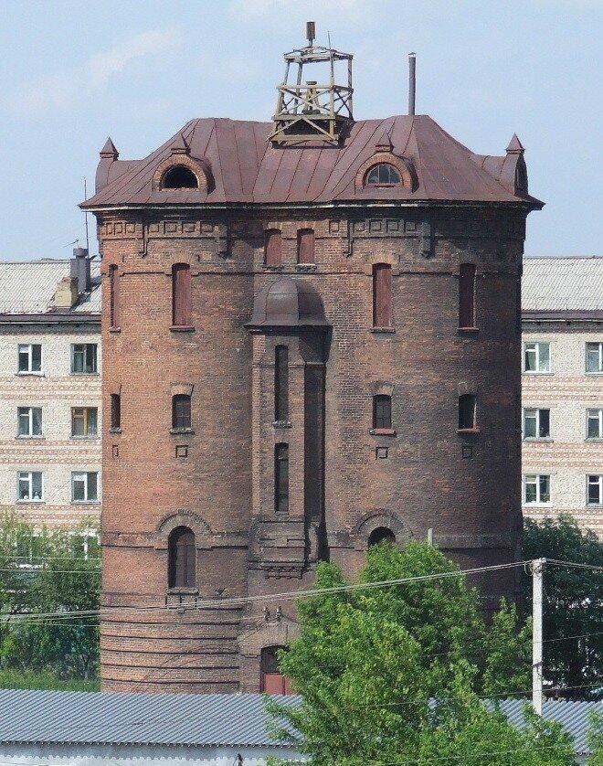 Водонапорные башни городов России