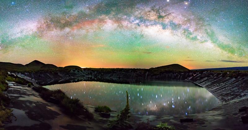 Млечный путь над Гавайями: потрясающие астрофотографии Ульдерико Грейнджера