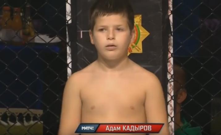 Сын Рамзана Кадырова Адам Кадыров  vs Давид Халатов 04.10.2016 Гран-при