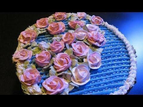 Торт на крестины - отмечали в субботу)