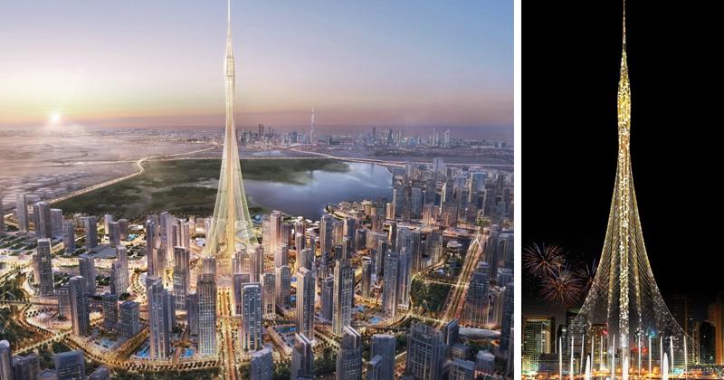 В Дубае строится новое самое высокое здание в мире, и оно поразит ваше воображение!