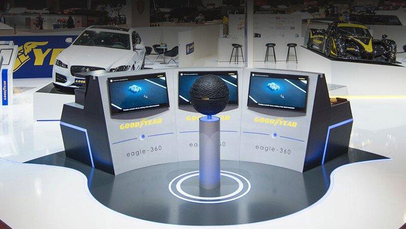 Компания Goodyear разработала концепты шин для беспилотников