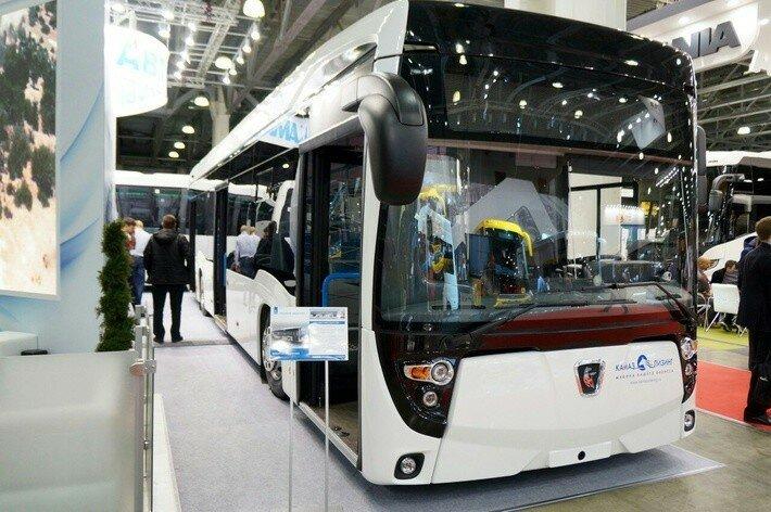 КАМАЗ представил электробус «второго поколения» с новым интерьером