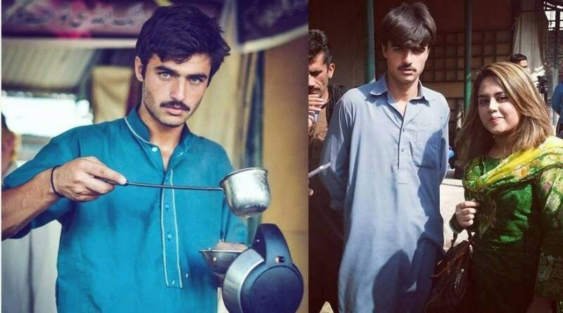 «Горячий продавец чая» из Пакистана подписал модельный контракт благодаря Сети