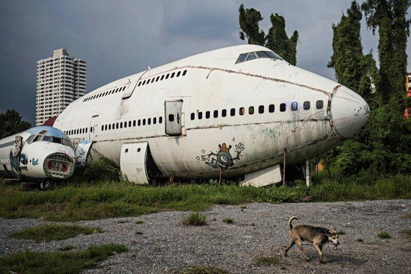 Жизнь на кладбище самолетов