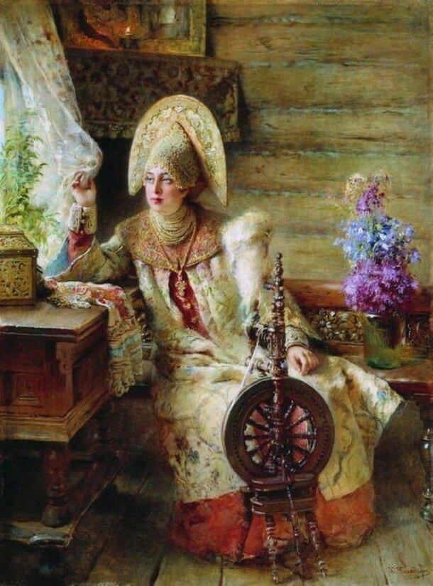 Красавицы Константина Маковского