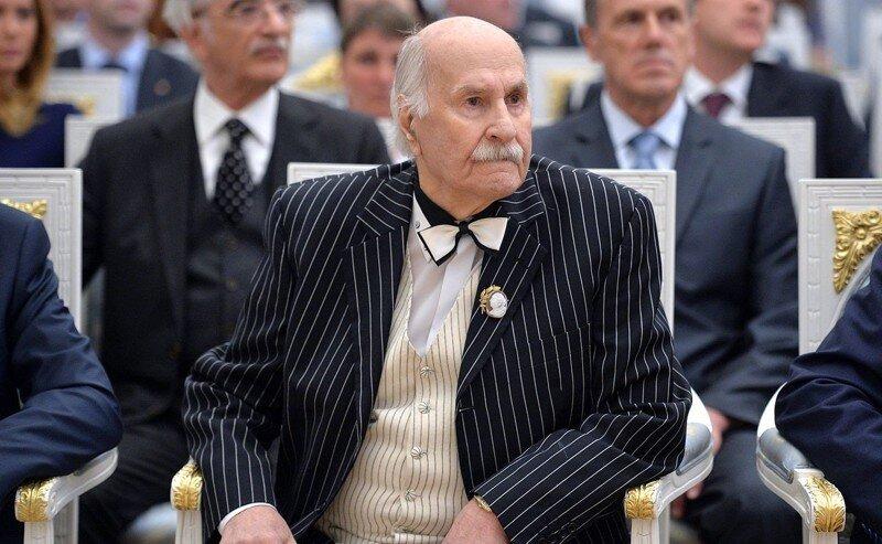 Актёр Владимир Зельдин скончался в больнице в Москве