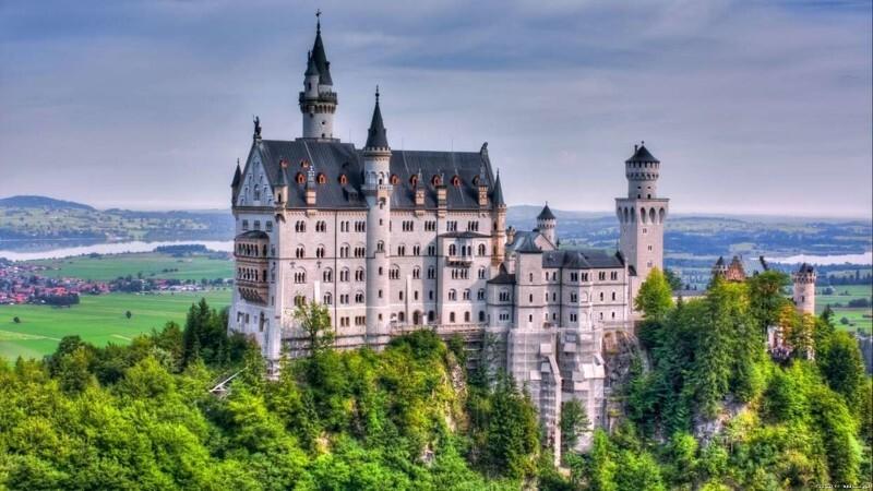 Самые необычные замки