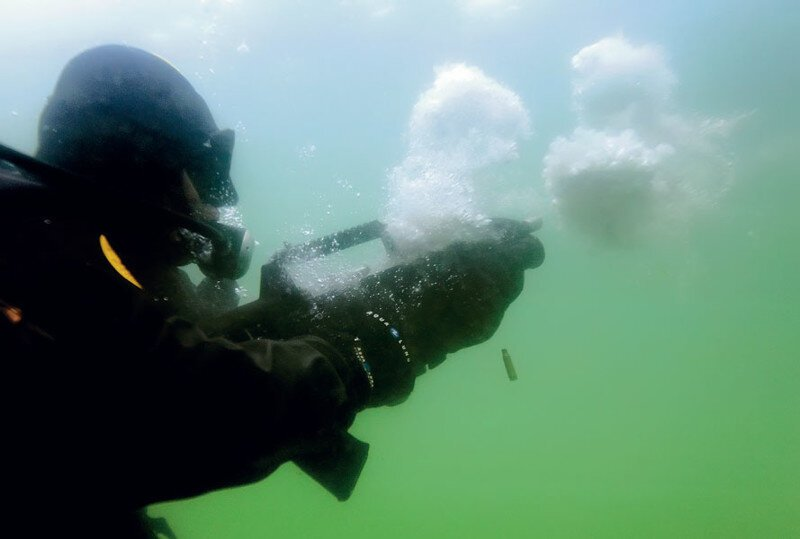 В Туле сделали подводный автомат
