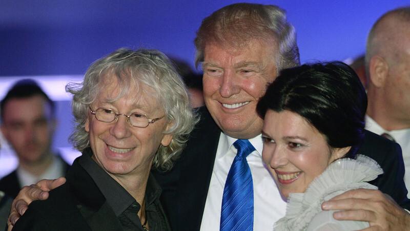 Российские звёзды друзья Дональда Трампа