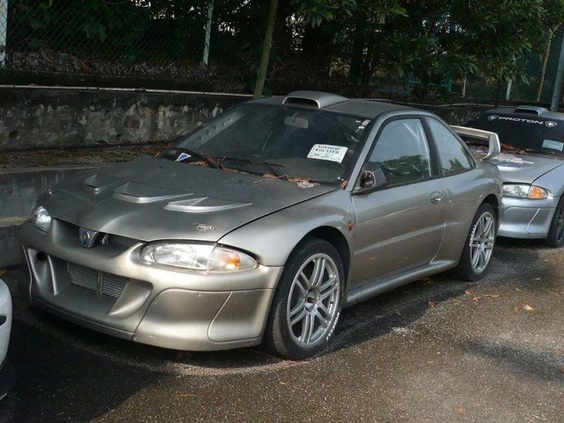 Proton Putra WRC: смесь Mitsubishi Lancer Evo с Subaru Impreza WRC