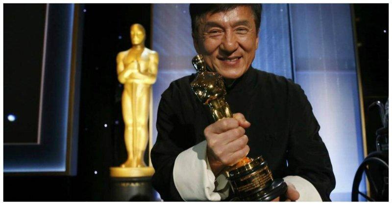 «После 200 фильмов и множества сломанных костей он, наконец, мой!». Речь Джеки Чана после получения Оскара