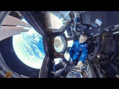 Видео 360 градусов МКС
