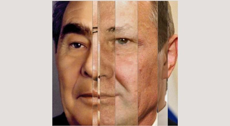 Лицо нации: что можно увидеть, совместив портреты лидеров в одном