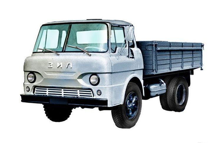ЗИЛ Э169А – опытный автомобиль бескапотной компоновки