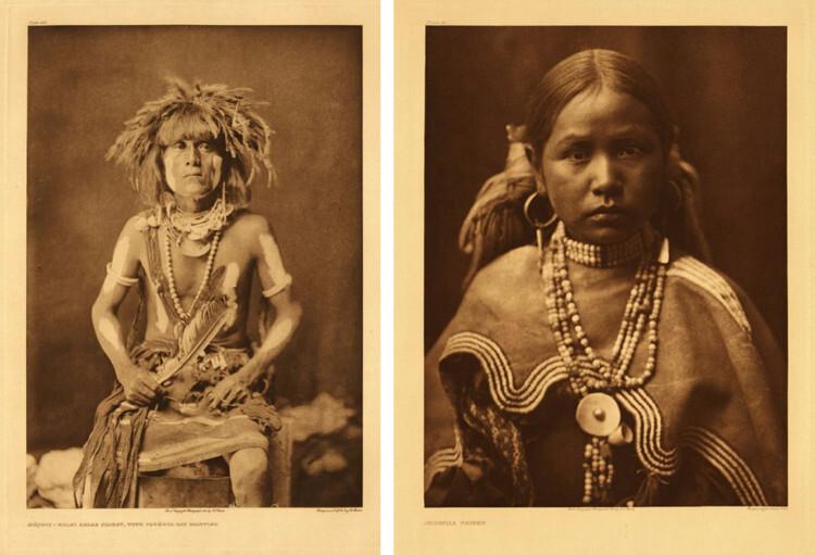 Портреты коренных американцев начала 20 века