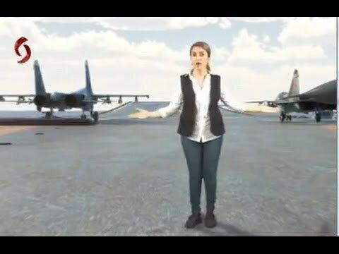 Авианосец «Адмирал Кузнецов» на сирийском ТВ