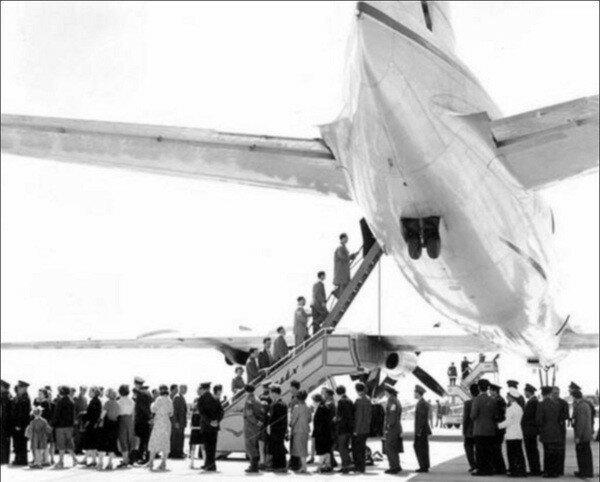 Трансатлантический лайнер мечты  - 1961 год