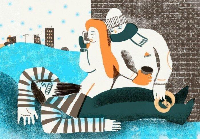 Как помочь бездомным пережить зимние морозы